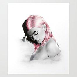 Kylie. Art Print