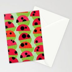 Leaf and Ladybird Stationery Cards