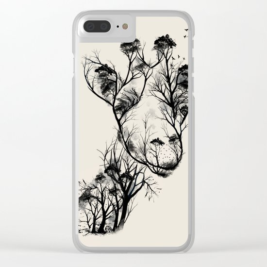 Wildlife Clear iPhone Case