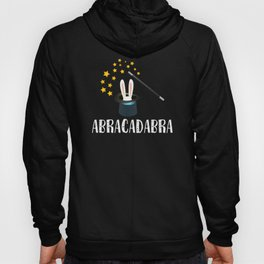 wizard design magic magician sorcery Abracadabra Hoody