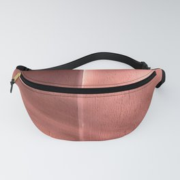 Bloomartgallery_Marrakech pink terracotta wall and shadows Fanny Pack