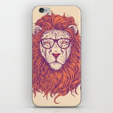 Lion Hipster iPhone & iPod Skin