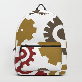 Steam Age Gears Backpack
