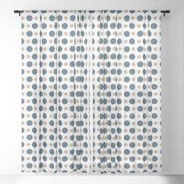 Dots Pattern 17 Sheer Curtain