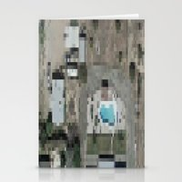 las vegas Stationery Cards featuring Las Vegas by Mark John Grant