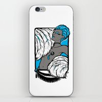 burlesque iPhone & iPod Skins featuring Burlesque by Brit Austin Illustration