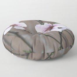 Peach Blossoms Floor Pillow