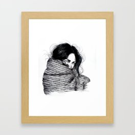 Mornings with you.  Framed Art Print
