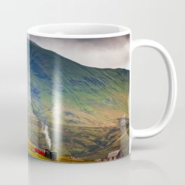 Steam Trains To The Summit Coffee Mug