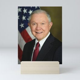 Jeff Sessions Portrait Mini Art Print