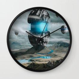 ALIEN CAPSULE Wall Clock