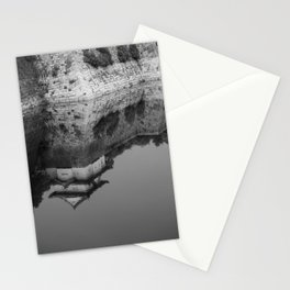 Reflections of Osaka Castle Stationery Cards