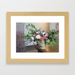 FLOWER DESIGN 10 Framed Art Print