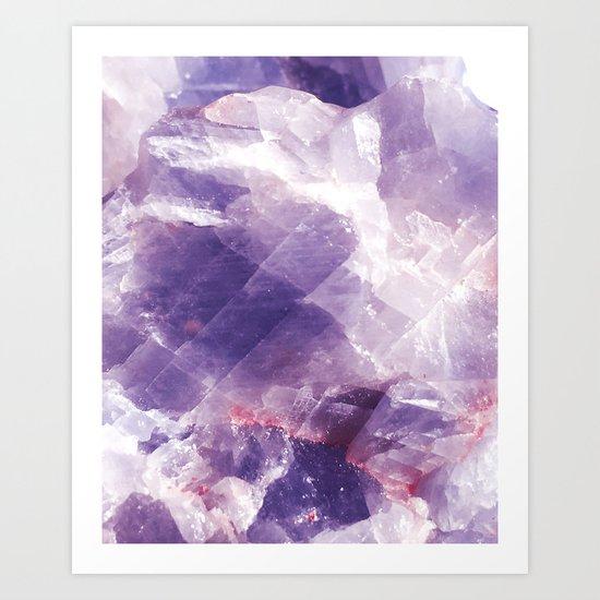 Amethyst gemstone by galeswitzer