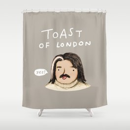 Toast of London Shower Curtain