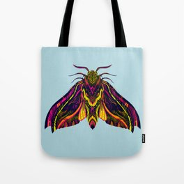 Elephant Hawk Moth Tote Bag