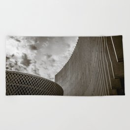Texturized Brutalism Beach Towel