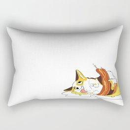 Eggy Corgi Rectangular Pillow