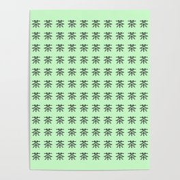 chinese ideogram: the tea 3 Poster