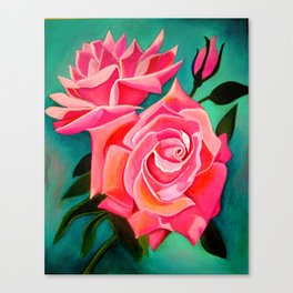 Pink Rose(s) Canvas Print