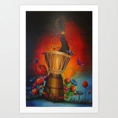 Africa Dream Art Print