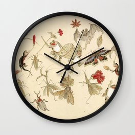 Dancing Forest Of Frogs By Kawanabe Kyosai 1879 Wall Clock