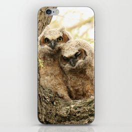 Rest your head on my shoulder iPhone Skin