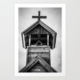 Church Bell Art Print