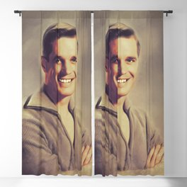 George Peppard, Actor Blackout Curtain