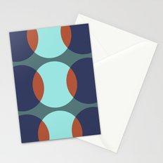 Mekko Teal Stationery Cards