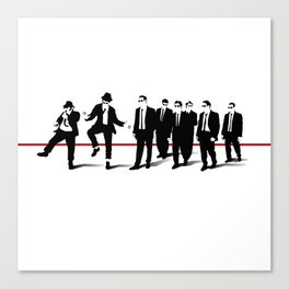 Reservoir Brothers Canvas Print