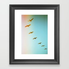 Updraft Framed Art Print