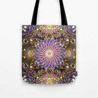 sparkle Tote Bags featuring Sparkle by Angelo Cerantola