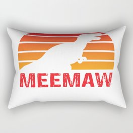 Grandma Gift Meemaw Saurus Rex Meemaw Saurus T-shirt Rectangular Pillow