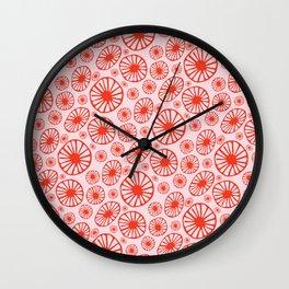 Little Cherry Blossom Wall Clock