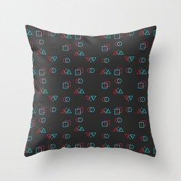 Retro Error Throw Pillow