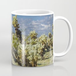 Cactus called teddy bear cholla No.0265 Coffee Mug
