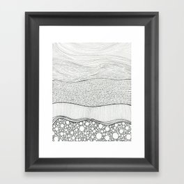 Layers 1 Framed Art Print