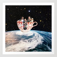 Storm in a Cup Art Print