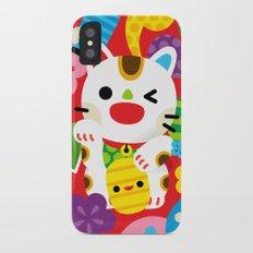 Maneki Neko Slim Case iPhone X