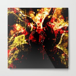 tarantula fangs wsd Metal Print