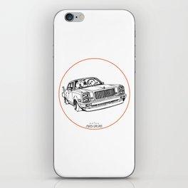 Crazy Car Art 0203 iPhone Skin