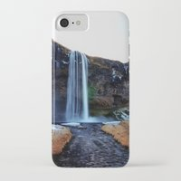 waterfall iPhone & iPod Cases featuring Waterfall by EclipseLio
