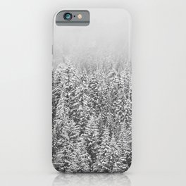 Black & White Forest iPhone Case