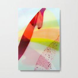 Colourful geometric design Metal Print