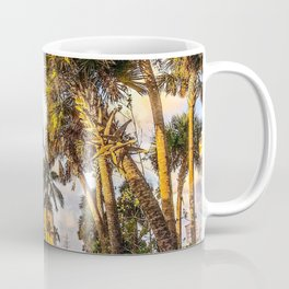 Tropical Railroad Station Coffee Mug