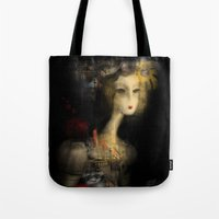 sydney Tote Bags featuring Sydney by Sona