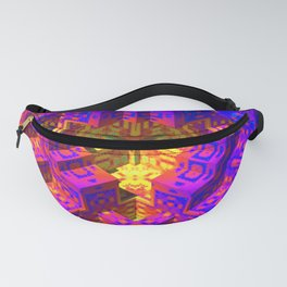 Psychedlic Pstairs Fanny Pack
