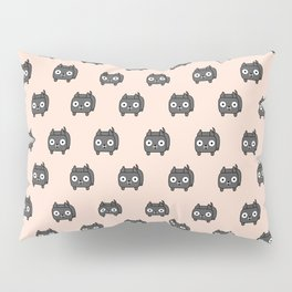 Pitbull Loaf - Blue Pitbull with Cropped Ears Pillow Sham
