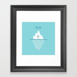 Icebleurgh Framed Art Print